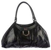 Gucci Python D-Ring Bag