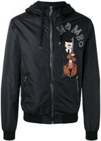 Dolce & Gabbana violin print jacket - men - Cotton/Sheep Skin/Shearling/Polyamide/Virgin Wool - 44