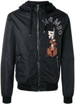 Dolce & Gabbana violin print jacket - men - Cotton/Sheep Skin/Shearling/Polyamide/Virgin Wool - 50