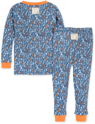 Burt's Bees Forest Frenzy Snug Fit Organic Baby Pajamas