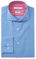 Isaac Mizrahi French Blue Slim Fit Dress Shirt