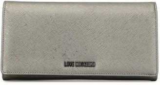 Love Moschino textured wallet