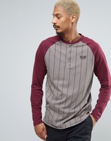 Vans Louisville Retro Long Sleeve Top In Grey V00xw7kra