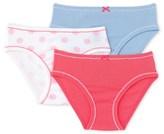 Petit Bateau Pack of 3 girls pants