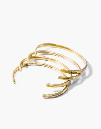 Madewell Soko Delicate Cuff Bracelet Set