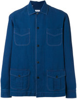 Salvatore Piccolo multi-pockets denim shirt - men - Cotton - 40