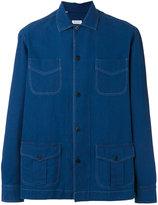 Salvatore Piccolo multi-pockets denim shirt - men - Cotton - 42