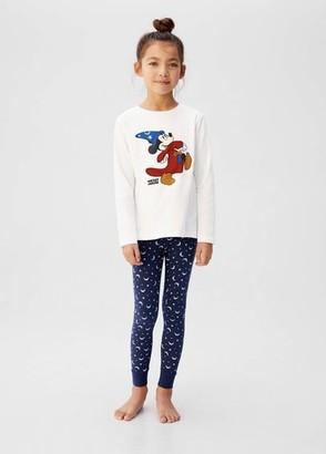 MANGO Mickey Mouse print pyjama