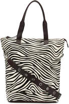 P.A.R.O.S.H. zebra panel shopper tote