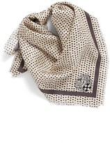 Vince Camuto Women's Polka Dot Party Square Silk Scarf