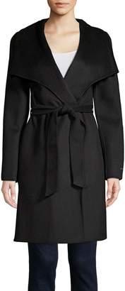 T Tahari Ellie Belted Wrap Coat