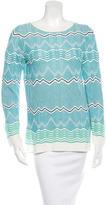 M Missoni Patterned Knit Sweater