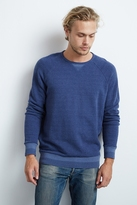 Corwin Chevron Fleece Raglan Shirt