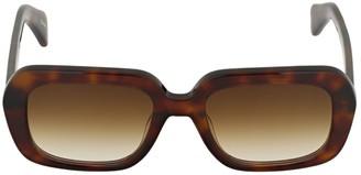 Chimi Maple Rectangle Acetate Sunglasses