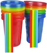 The First Years Straw Cup - Multicolor - 10 oz - 8 ct