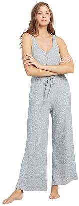 L-Space Head Clouds Jumper (Heather Grey) Women's Jumpsuit & Rompers One Piece