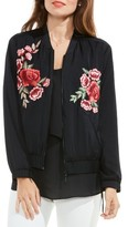 Vince Camuto Women's Embroidered Bomber Jacket