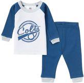 Gerber Baby Indianapolis Colts 2-Piece Thermal Pajama Set