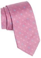 BOSS Men's Floral Silk Tie