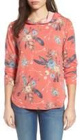 Pleione Printed Hoodie Sweatshirt