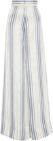 Jill Stuart Jodie Striped Wide Legged Pant