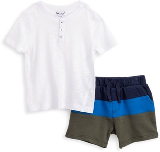 Splendid Baby Boy's 2-Piece Colorblock Shorts & T-Shirt Set