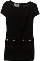 Prada Black Wool Dress for Women