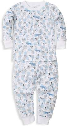 Kissy Kissy Baby Boy's Polka Dot Pup 2-Piece Pajama Set