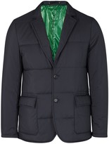 Paul Smith Navy Quilted Shell Blazer