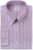 Brooks Brothers Men's Regent Classic-Fit Pink Striped Dress Shirt
