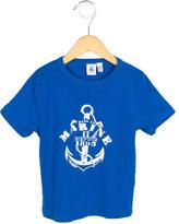 Petit Bateau Boys' Printed Crew Neck T-Shirt