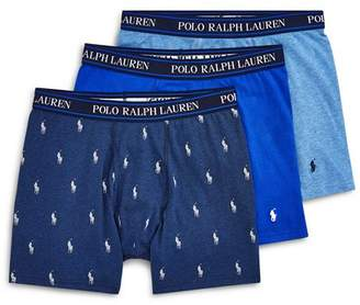 Polo Ralph Lauren Stretch Cotton Boxer Briefs - Pack of 3