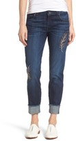 KUT from the Kloth Women's Amy Cuffed Crop Jeans