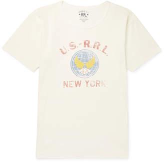 Ralph Lauren RRL Slim-Fit Printed Cotton-Jersey T-Shirt