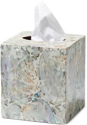 Ladorada Mother-of-Pearl Tissue Box