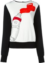 Olympia Le-Tan paint tube sweatshirt