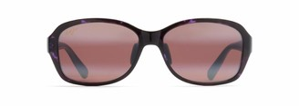 Maui Jim Sunglasses | Koki Beach R433-28T20 | Purple Tortoise Fashion Frame Frame Polarized Maui Rose Lenses with Patented PolarizedPlus2 Lens Technology