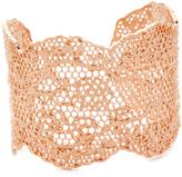 Aurelie Bidermann Laser Cut Vintage Lace Cuff