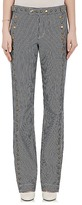 Chloé WOMEN'S STUDDED STRIPED STRAIGHT JEANS
