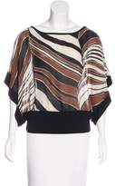 Trina Turk Silk Short Sleeve Top