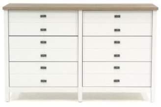 Gracie Oaks Artie 6 Drawer Double Dresser Gracie Oaks Color: Mystic Oak