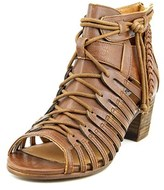 Not Rated Cupertine Women Open Toe Synthetic Tan Gladiator Sandal.