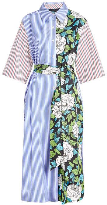 Diane von Furstenberg Printed Cotton Dress