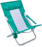 Bed Bath & Beyond Folding Hammock Beach Chair in Blue