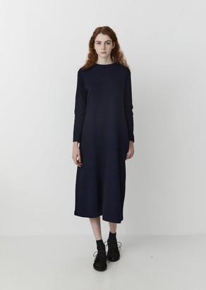 Blue Blue Japan Indigo Yarn Dyed Jersey Dress