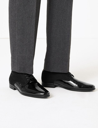 Marks and Spencer Patent Derby Shoes