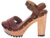 Polo Ralph Lauren Lacie Suede Sandals w/ Tags