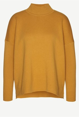 Armedangels Yuna Knitted Jumper - XS / Golden Yellow - Gold/Yellow