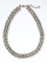 Banana Republic Silver Sparkle Collar Necklace