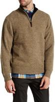 Pendleton Shetland Wool 1/2 Zip Sweater